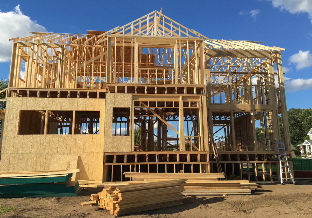 Building a new construction home boosts the local economy for Building a house in mn