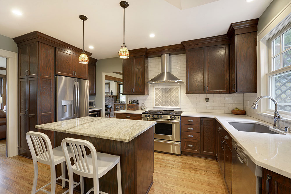 Choosing The Right Countertops To Match Cherry Cabinets Home Building And Remodeling Experts In Plymouth Minnesota Mn