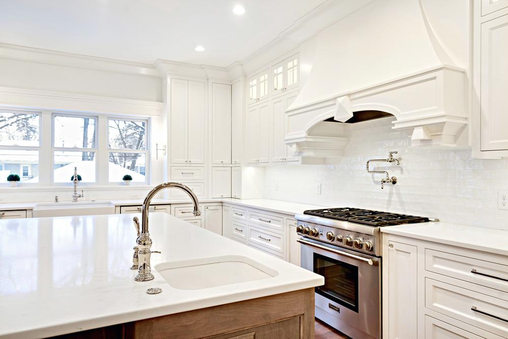 custom white kitchen Plymouth mn