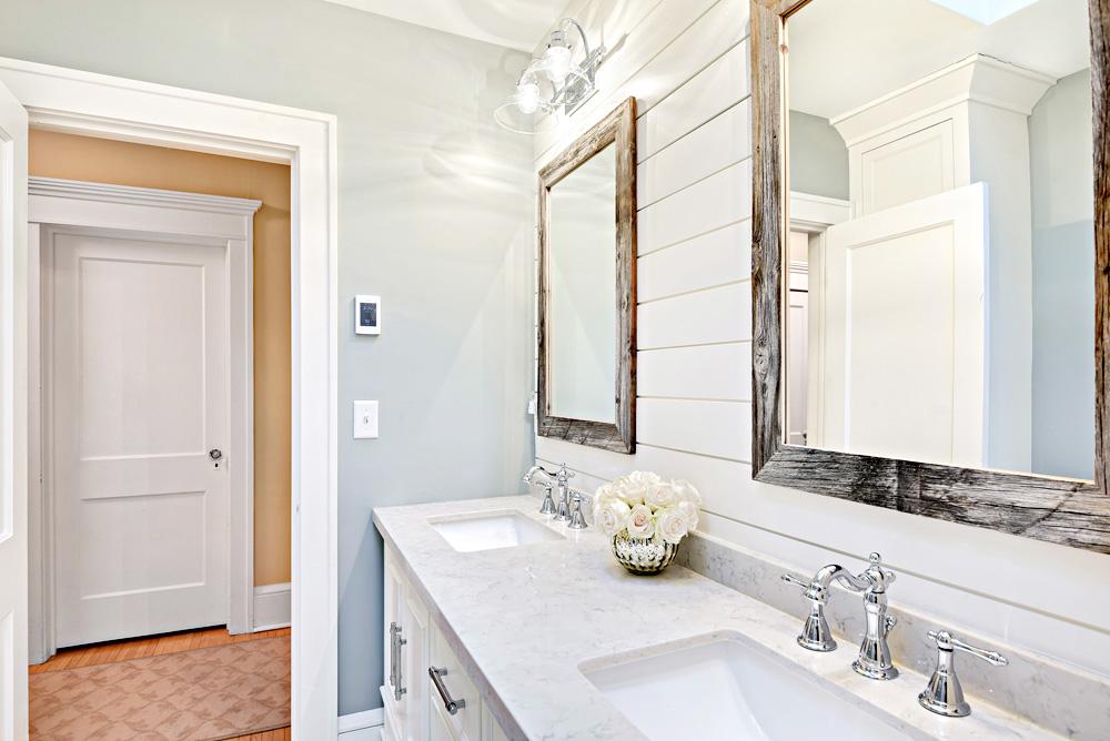 custom white bathroom Plymouth mn