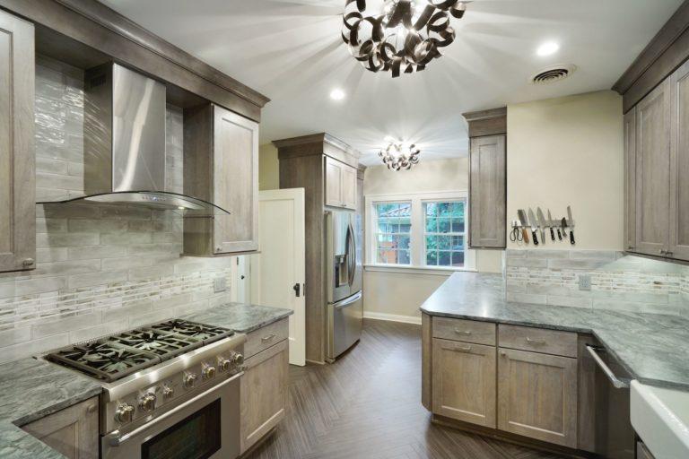 Kitchen & Basement on Aldrich